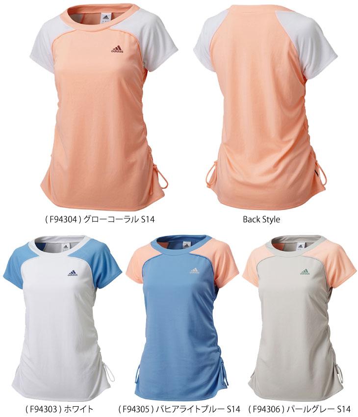 アディダス レディース Tシャツ(DDX11)