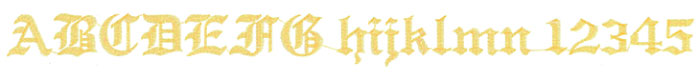 花文字の画像