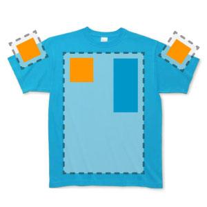 Tシャツ背面マーキング位置