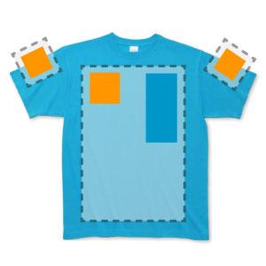 Tシャツ前面マーキング位置