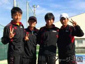 浜松北高校テニス部 様