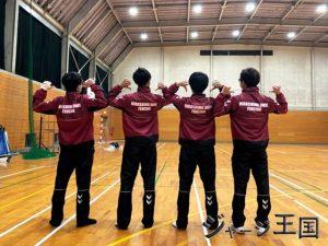 広島大学体育会フェンシング部様のウィンドブレーカー