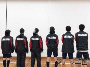 大阪府立茨木高校卓球部様のウィンドブレーカー